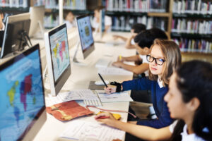 Vision care and school technology VCD